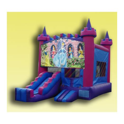 Cinderella Bounce House Jumper 2 in 1 in San Diego