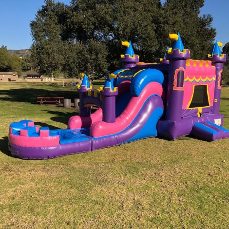 Queen Palace Water Slide Combo Jumper in San Diego